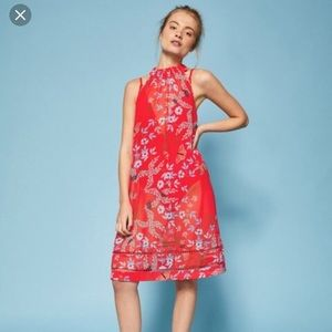 4276d0439eaad5 Ted Baker London Dresses - Ted Baker London Kyoto Gardens Coverup Dress M